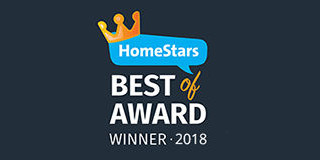 HomeStars Best of Award Winner 2018