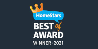 HomeStars Best of Award Winner 2021